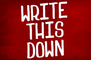 WriteThisDown